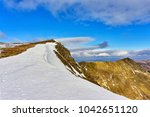 A View Of Striding Edge  A...