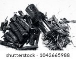 ayurvedic herb liquorice root... | Shutterstock . vector #1042665988