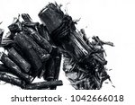 ayurvedic herb liquorice root... | Shutterstock . vector #1042666018