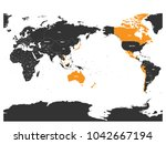 map of comprehensive and... | Shutterstock .eps vector #1042667194