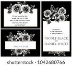 vintage delicate invitation... | Shutterstock . vector #1042680766