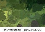 oil painting on canvas handmade....   Shutterstock . vector #1042693720