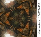 Kaleidoscope Pattern Of...