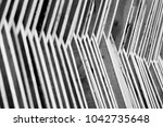 real wooden pattern background... | Shutterstock . vector #1042735648