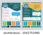 fortune 777 symbol on vector... | Shutterstock .eps vector #1042751980