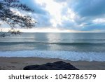 nice atmosphere at the sai keaw ... | Shutterstock . vector #1042786579