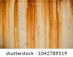 grunge wall background with... | Shutterstock . vector #1042789519