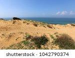 coast of the mediterranean sea... | Shutterstock . vector #1042790374