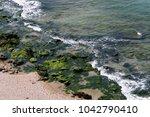 coast of the mediterranean sea... | Shutterstock . vector #1042790410