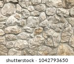 rusty texture of old white... | Shutterstock . vector #1042793650