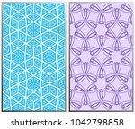 vector monochrome seamless... | Shutterstock .eps vector #1042798858