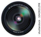 camera photo lens  vector...   Shutterstock .eps vector #1042821298