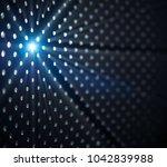 abstract blue light effect...   Shutterstock . vector #1042839988