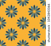 new color seamless pattern with ... | Shutterstock .eps vector #1042843366