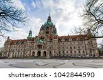 Stock photo new town hall hannover germany 1042844590