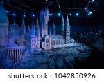 leavesden  uk   february 24th...   Shutterstock . vector #1042850926