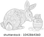 Easter Bunny And Newborn Baby...