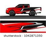 truck graphic background kit... | Shutterstock .eps vector #1042871350