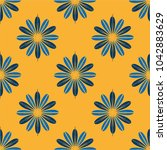 new color seamless pattern with ... | Shutterstock . vector #1042883629