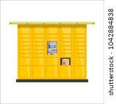 vector post automat... | Shutterstock .eps vector #1042884838