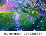 kyoto japan 04 21 2017  scenery ... | Shutterstock . vector #1042885384