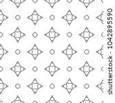 seamless vector pattern in... | Shutterstock .eps vector #1042895590