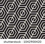 vector seamless pattern. modern ... | Shutterstock .eps vector #1042900420