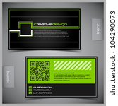 vector abstract creative... | Shutterstock .eps vector #104290073