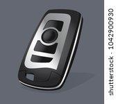 vector keyless car remote...   Shutterstock .eps vector #1042900930