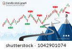 candlestick patterns is a style ... | Shutterstock .eps vector #1042901074