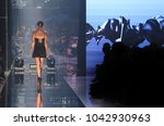 black dress high heels model... | Shutterstock . vector #1042930963