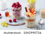 overnight oats  bircher muesli...
