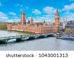 Small photo of Westminster palace and Big Ben, London, UK