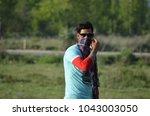 bollywood modaling faces   Shutterstock . vector #1043003050
