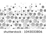 light silver  gray vector... | Shutterstock .eps vector #1043033806