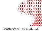 light red vector abstract... | Shutterstock .eps vector #1043037268