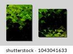 dark greenvector banner for...