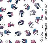bright birthday pattern on... | Shutterstock .eps vector #1043066464