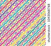vector color pattern for... | Shutterstock .eps vector #1043068768