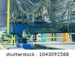 metallurgical production ... | Shutterstock . vector #1043092588