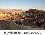 death valley zabriskie point   Shutterstock . vector #1043104330