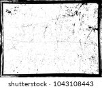 grunge black and white distress ... | Shutterstock .eps vector #1043108443