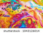 Fluid Art. Abstract Colorful...