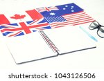 education concept. english... | Shutterstock . vector #1043126506
