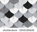 seamless pattern  simple fish...