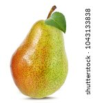 pears isolated on white... | Shutterstock . vector #1043133838