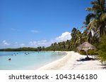 isla mujeres   mexico   06.25... | Shutterstock . vector #1043146180