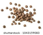 Dried Allspice Isolated On...