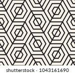 vector seamless pattern. modern ... | Shutterstock .eps vector #1043161690