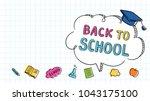vector illustration banner... | Shutterstock .eps vector #1043175100